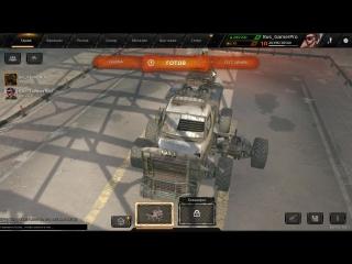 Crossout |Ночная покатушка с stasonik666 |3000 OM | Gameplay