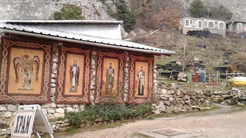 монастырь святой великомученицы Анастасии узорешительницы качи кальон