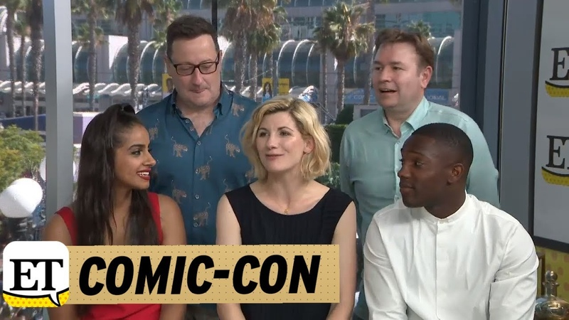Comic Con 2018 The Doctor Who Cast On Why It Was Time For A Female Doctor