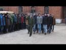 Торжественный марш на открытии памятной доски в Рязани