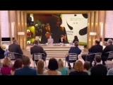 Ольга Бузова устроила истерику на шоу 'Бабий бунт' на Первом канале