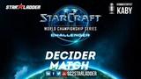 2018 WCS EU Challenger Season 2 Ro16, Group D, Decider Match Clem (T) vs uThermal (T)