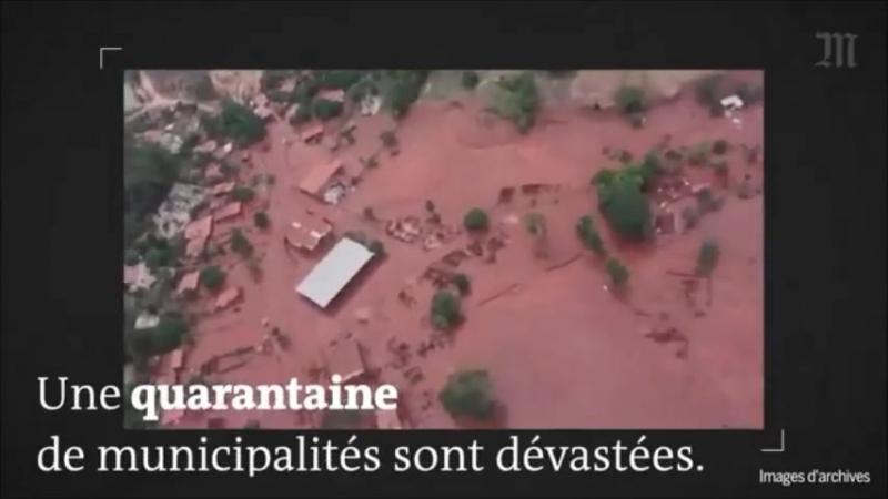 Environnement : Contaminations : au Brésil, « la catastrophe du Rio Doce a brisé des vies à tout jamais »