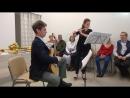 Гитара и флейта открытие центра бахаи в Петербурге