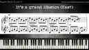 Emotional Piano Music Tutorial It's a Grand Illusion │Pop Piano Lessons 3