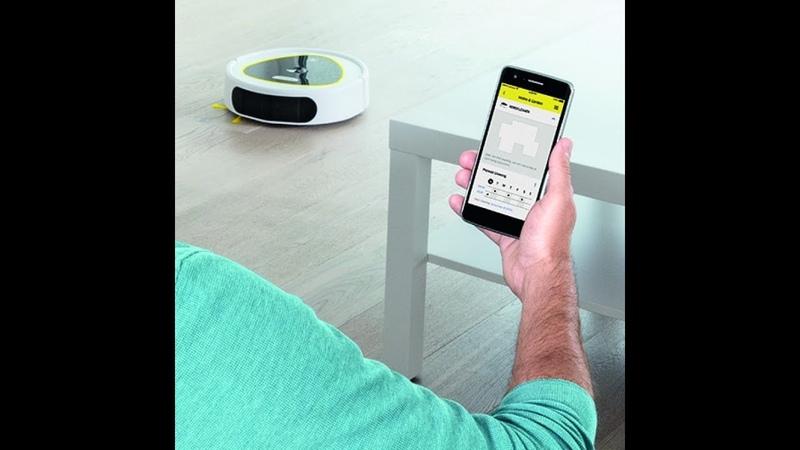 KARCHER Новый робот-пылесос RC 3 Обзор/RC 3 Vacuum Cleaner Robot REVIEW