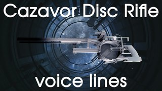 [Prey] All (placeholder) voice lines for the talking disc rifle