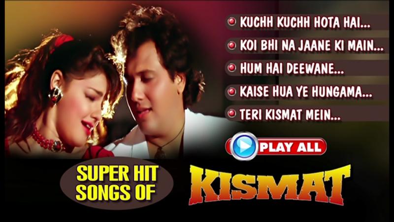 Kismat _ Govinda, Mamta Kulkarni _ Bollywood Hindi Songs