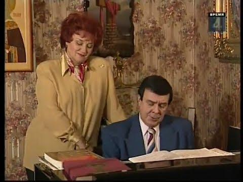 Муслим Магомаев и Тамара Синявская - Редкое Интервью 1998 года в гостях у супругов