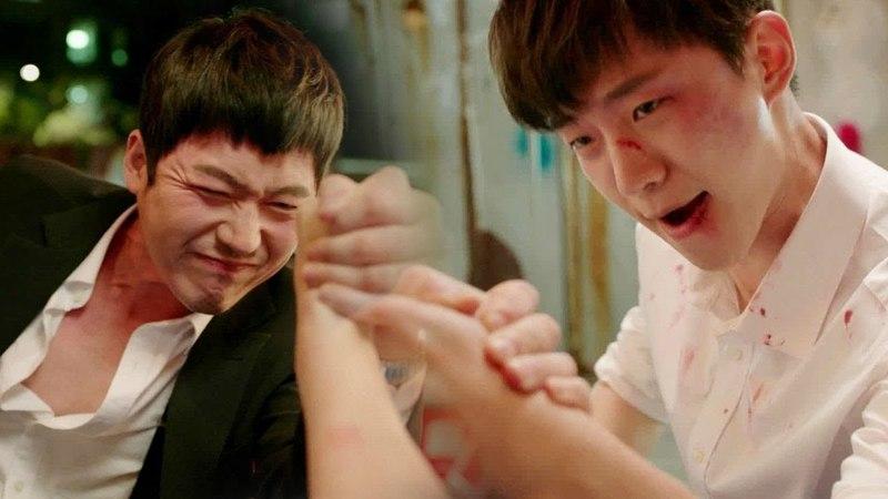 장혁 VS 준호, 깡패와 요리사의 '소원 들어주기 팔씨름' 《Wok of Love》 기름진 멜로 EP11-12