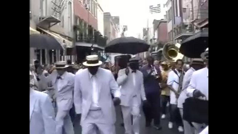 Rebirth Brass Band on the jazz festival