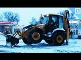 Холостая уборка снега