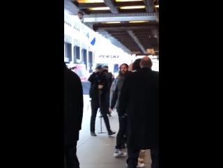26.01.2018 • Джаред прибывает в Radio City Music Hall | Нью-Йорк, США