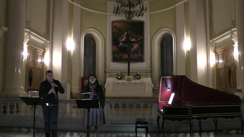 Bach - Bist du bei mir (репетиция)