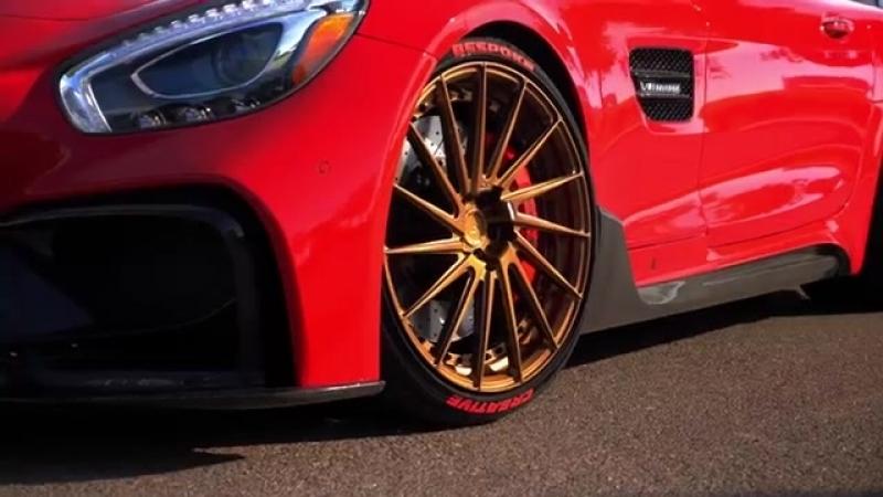 ADV.1 Iron Merc - Infinity Wheels Darwin Pro Carbon Fiber Mercedes-AMG GT S