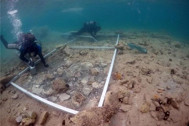 В Хорватии на дне моря нашли древний город