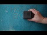 Pixel-Cube, Print-Cube. Кубик для печати магнитами на металлической поверхности.