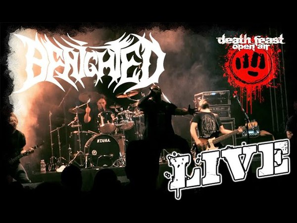 Benighted LIVE @ Deathfeast Open Air 2016 - Full Set - Dani Zed - Brodequin