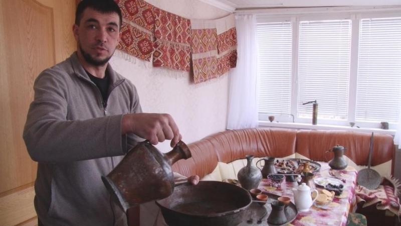 Ибрахим Ибрагимов – обладатель огромной коллекции крымскотатарской старины