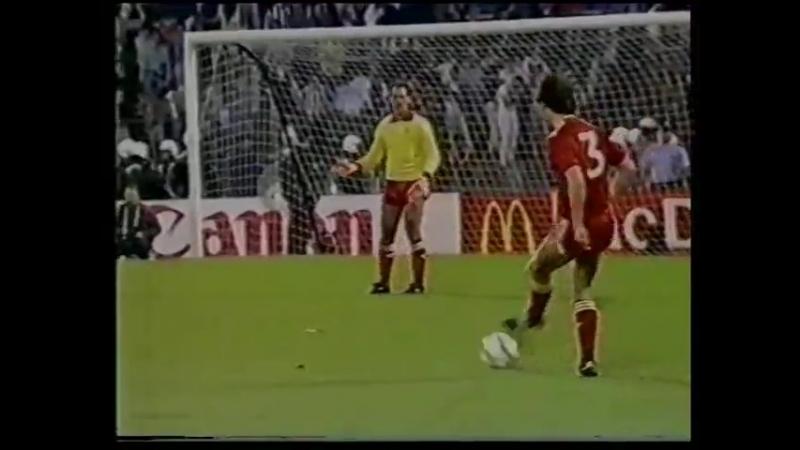 Кубок Европейских Чемпионов 198485. Ювентус (Италия) - Ливерпуль (Англия)