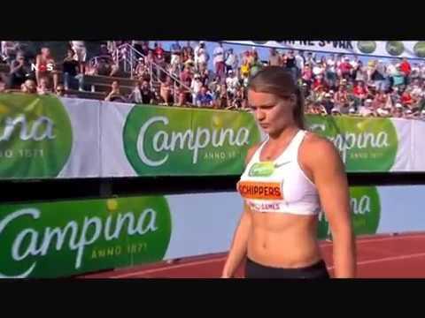 Dafne Schippers 200m FBK Games Hengelo 22 44 3 june 2018