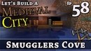 How To Build A Medieval City :: E58 :: Smugglers Cove :: Minecraft :: Z One N Only