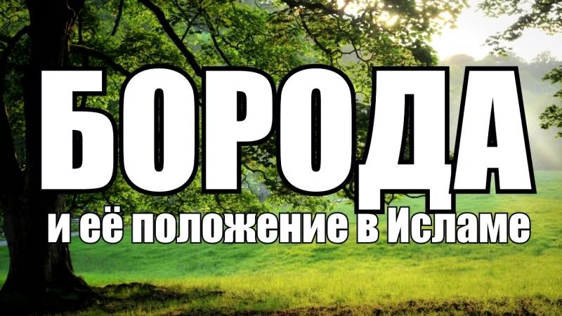 Boroda_i_eyo_polozhenie_v_Islame_Aby_Yahya_Krimskii.mp4