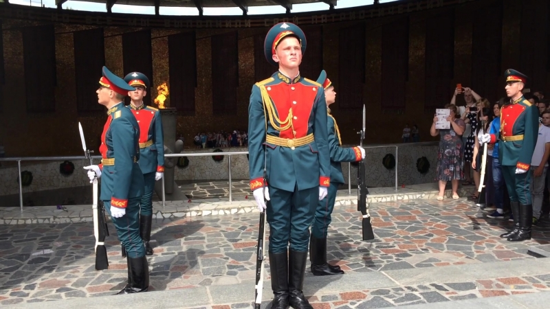 Рота Почетного караула Волгоград [18 мая 2018]