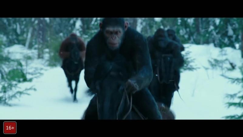 Трейлер фильма Планета обезьян: Война