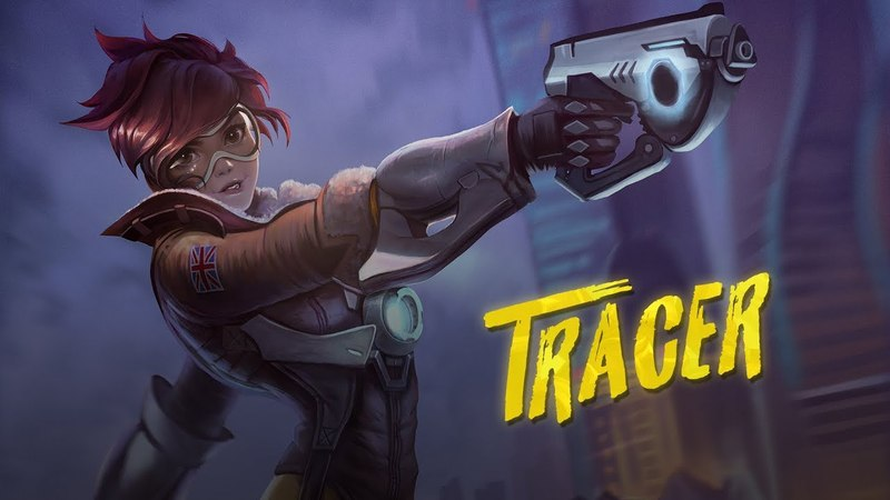 Tracer from Overwatch Speedpaint