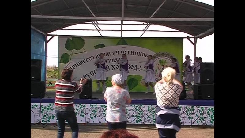 Межрайонный фестиваль Русский хоровод п.Чулым 2018г. 3 часть