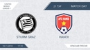 AFL18. United. World. League 1. Day 21. Sturm Graz - Hanoi
