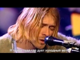Nirvana - Where Did You Sleep Last Night(rus sub)