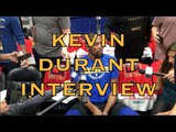 Entire KEVIN DURANT interview from New Orleans, day before G3