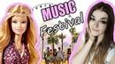 СОЛНЕЧНАЯ КАЛИФОРНИЯ! Обзор Барби Музыкальный Фестиваль The Barbie Look Music Festival