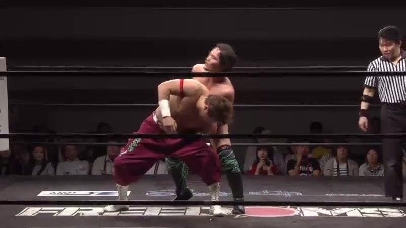 Yuko Miyamoto vs. Yuya Susumu (FREEDOMS - Yokohama Wrestling Festival 2018)