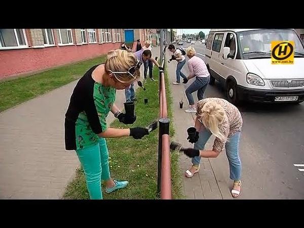 Субботники в Оршанском районе: на уборку на предприятиях вышли почти 50 тысяч жителей