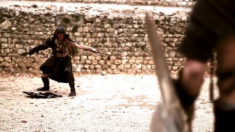 Bande annonce (Combat de gladiateur) Gladiateur, le mépris des dieux