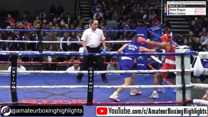 Marc Castro (2xWorld Youth Champ) vs Duke Ragan (Silver AIBA World 2017)