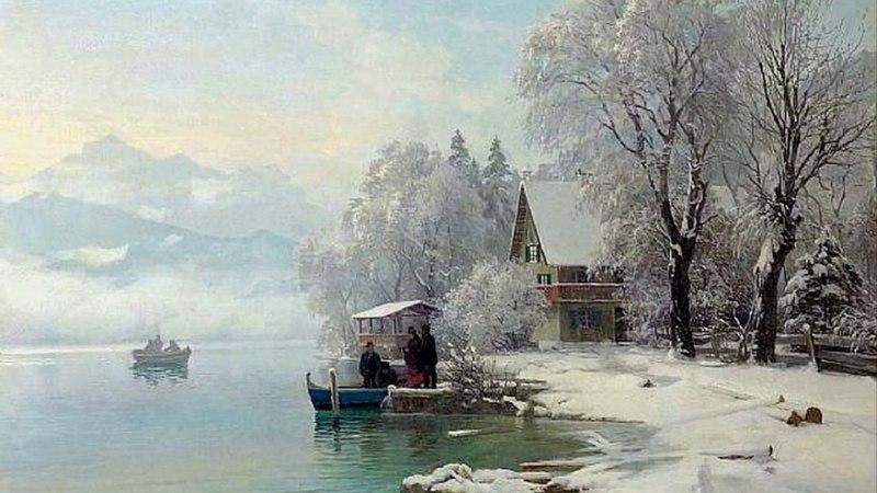 Andre Rieu - Winter (Antonio Vivaldi) / Художник Anders Andersen-Lundby