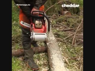 Насадка на бензопилу для обработки дерева - Заметки строителя