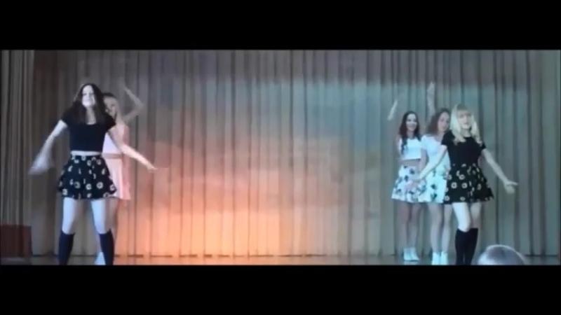 Сделали с девочками танец