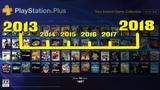 Все бесплатные PS Plus игры за 5 лет (2013-2018г) Чем же нас баловало Sony?