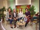 Валерия Шевчук и Юлия Бровкина в эфире телепередачи Сегодня утром