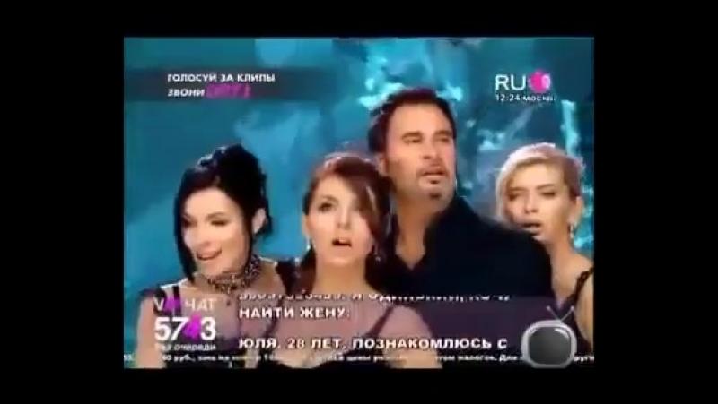 Валерий Меладзе и группа Виагра Притяженья больше нет. RU TV