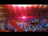 Попала на Хор Турецкого, на их коронную песню:) #Москва