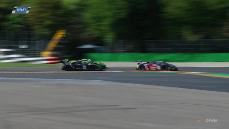 International GT Open 2018 Round 6 Italy Monza Race2