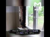 Недовольные клиенты сожгли подъезд борделя в Москве