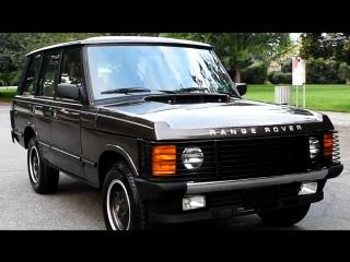 Автомобиль Land Rover Range Rover, 1989 года