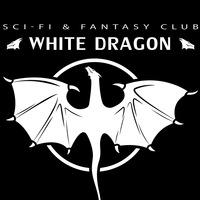 Логотип клуб любителей фантастики «Белый Дракон»